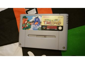 Super Mario World 2: Yoshi's Island + Manual SNES Svensksåld SCN