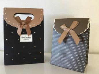 små presentpåsar jul