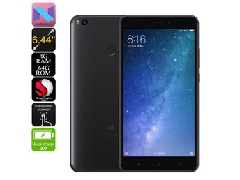 Xiaomi Max 2 Android Phone - Snapdragon CPU, 4GB RAM, Dual-IMEI, 4G, Android 7.1