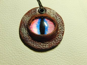 Draköga Hänge Dragon Eye Pendant Nr 4 Feb  ( 50 mm )