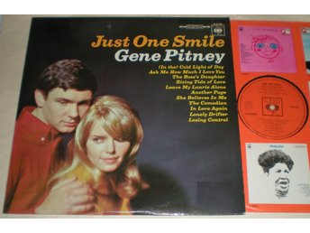 Gene Pitney LP Just One Smile 1967 M-