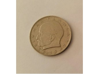 2 Deutsche Mark 1966 D