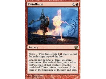 Magic the Gathering - Journey into Nyx - Twinflame - FOIL