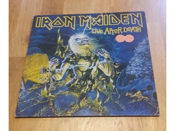 IRON MAIDEN, Live After Death.   ROCK. hårdrock. VINYL LP..