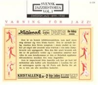 Svensk Jazzhistoria vol  1 1899-1930 (2 CD)