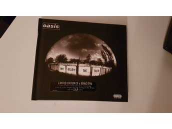 Oasis Don't believe the truth CD och DVD Limited