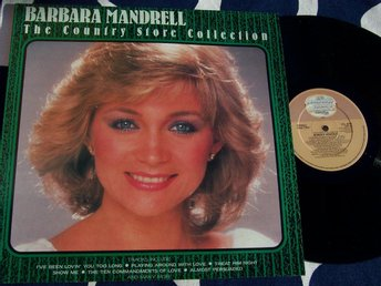 BARBARA MANDRELL - THE COUNTRY STORE COLL. LP 1986 TOPPSKICK