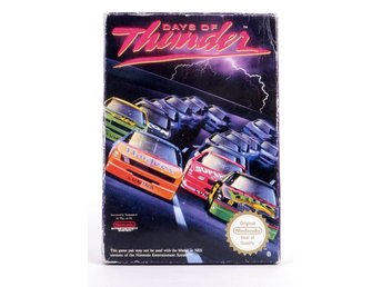Days of Thunder - Nintendo NES - PAL (EU)