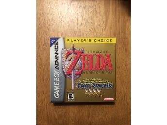 The legend of zelda: A link to the past with four swords GBA