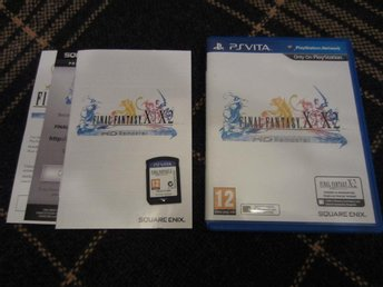 Final Fantasy X / X-2 HD Remaster - Komplett - Kanonskick - PS Vita