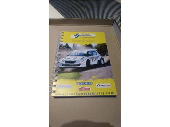 Roadbook, Motorsport, Rally