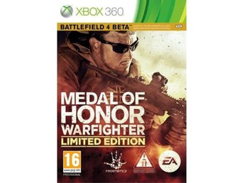 AKUT KRIS AUKTION - Medal of Honor - Warfighter - Limited Edition Xbox 360