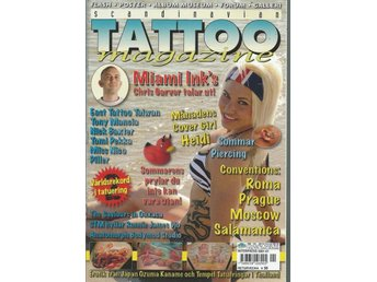 SCANDINAVIAN TATOO MAGAZINE NR 101 2010 - POSTER 1
