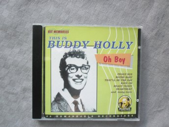 BUDDY HOLLY. SAMLINGS CD.