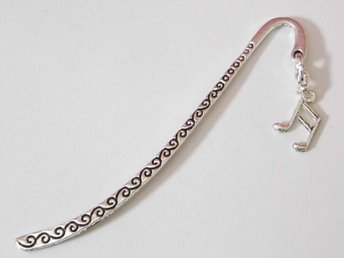 Musiknot bokmärke / Music note bookmark