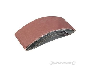 Replacement Sanding Belts 100mm x 610mm 5pk Belt Sander Power tools mix grit