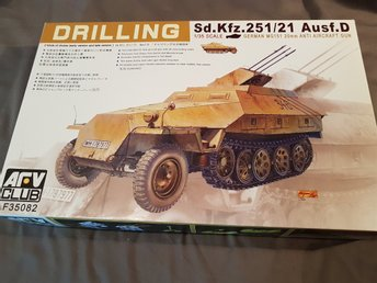 Afv Club 1/35 Sd Kfz 251/21 Drilling