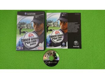 Tiger Woods PGA Tour 2003 KOMPLETT Gamecube Nintendo Game Cube