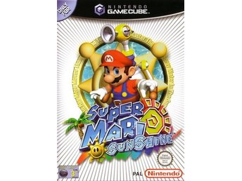 Super Mario Sunshine - Nintendo Gamecube - Inkl Manual