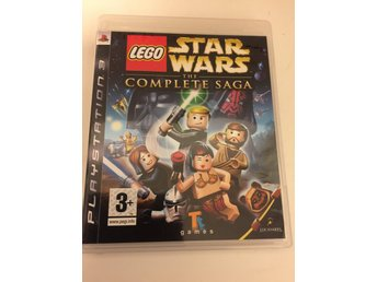 Lego Star wars the complete saga.