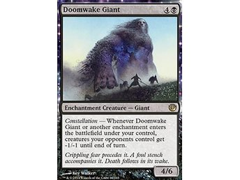 Magic the Gathering - Journey into Nyx - Doomwake Giant - FOIL