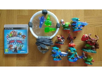 PlayStation 3/PS3: Skylands Trap Team (på svenska) + portal & figurer