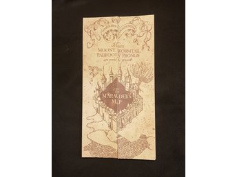 Harry Potter Marauders map (Marodör kartan)