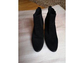 svarta mocka boots dam