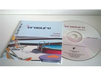 Erasure - Freedom, single CD, promo