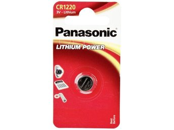 1 Panasonic CR 1220 Lithium Power