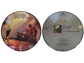"AC/DC 'Let There Be Rock' 10"" picture-disc vinyl EP"
