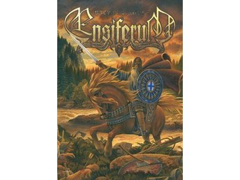 Ensiferum flagga. Metal, rock, hårdrock, viking. FRI FRAKT