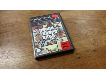 GRAND THEFT AUTO SAN ANDREAS BEG PS2