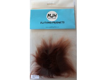 Flugfiske Flugbindning Arctic Fox Tail Brown