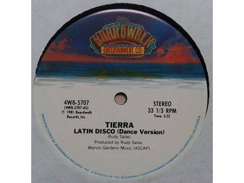"Tierra title *Latin Disco* Latin, Synth-pop, Disco 12"" US"