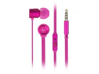 KITSOUND Hörlur Hive Rosa In-Ear Mic