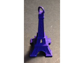 Eiffel torn 5cm Violett  antique Paris France