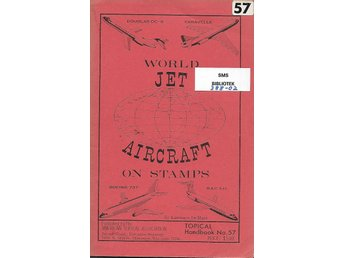 World jet aircraft on stamps handbok