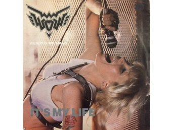 "WENDY O. WILLIAMS 'It's My Life' 1984 UK 12"", ft. KISS"