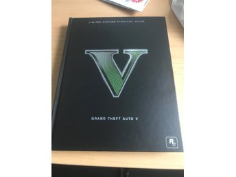 GTA V Limited edition strategy Guide engelsk