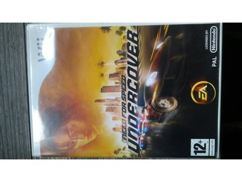 Nintendo wii spel Need for speed