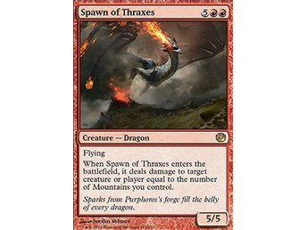 Magic the Gathering - Journey into Nyx - Spawn of Thraxes - FOIL
