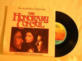 "John Williams  -  Paul McCartney´s theme from ""The honorary consul""   w. PS"