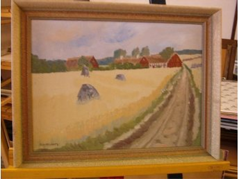 Oljemålning av Elsa Winberg född 1911 - död 1965 109d21c8a317c