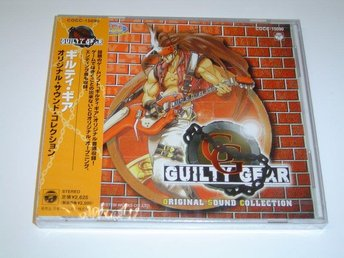 Guilty Gear Original Sound Collection Soundtrack Musik *NYTT*