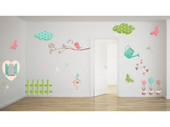 Wall Sticker My Garden (2554f)
