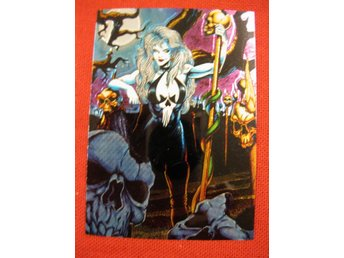 LADY DEATH - VALLEY OF THE SKULLS - CHROMIUM 1994