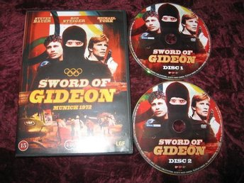 SWORD OF GIDEON 2-DISC(STEVEN BAUER,ROD STEIGER) DVD REG2