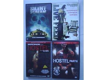 Splatter/Slasher-paket. SILENT SCREAM, LIVE FEED, HOSTEL, HOSTEL 2. - Skärblacka - Splatter/Slasher-paket. SILENT SCREAM, LIVE FEED, HOSTEL, HOSTEL 2. - Skärblacka