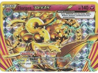 Pokémon, Florges Break - 104/162 - Break Rare - Umeå - Pokémon, Florges Break - 104/162 - Break Rare - Umeå